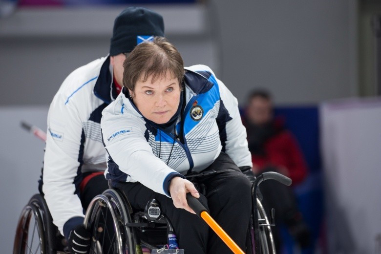 Scotland picked up two wins today and now sit outright second in the standings ©WCF/Céline Stucki