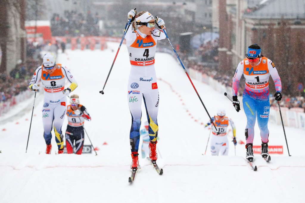 Sweden's Nilsson wins women's sprint at FIS Cross-Country World Cup