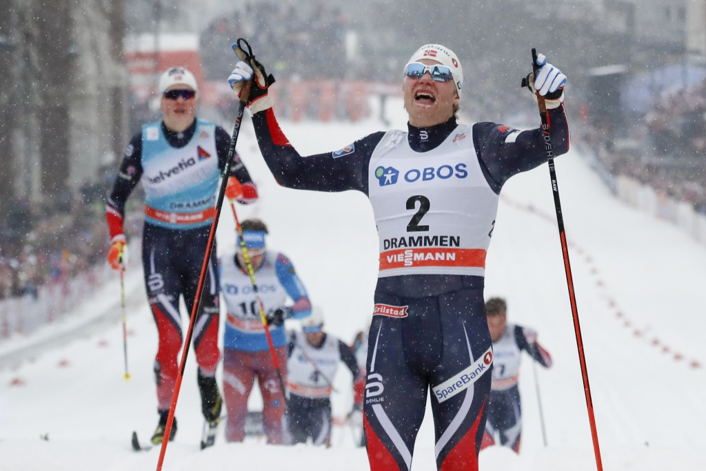 Norway's Eirik Brandsdal won the men's sprint ©Getty Images