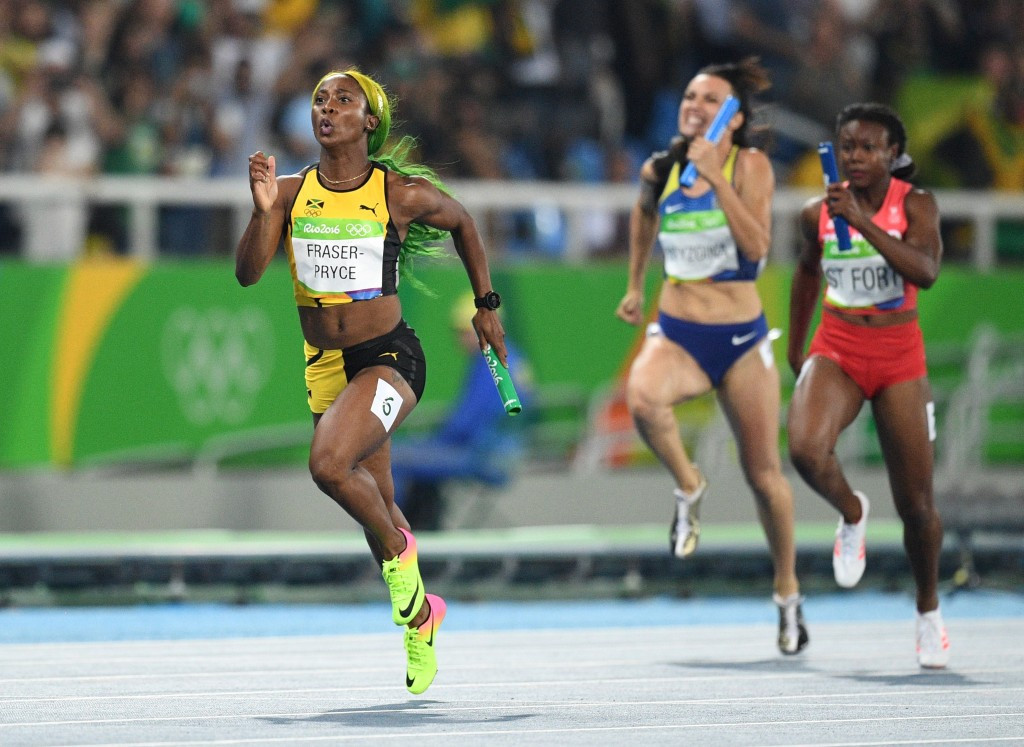 Double Olympic gold medallist Shelly-Ann Fraser-Pryce of Jamaica will not defend her 100 metres title at this year's World Athletics Championships in London ©Getty Images