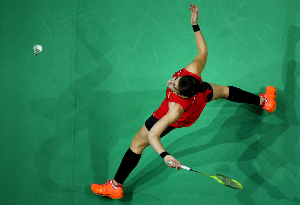 Rio 2016 champion comes from behind to reach BWF All England Open last eight