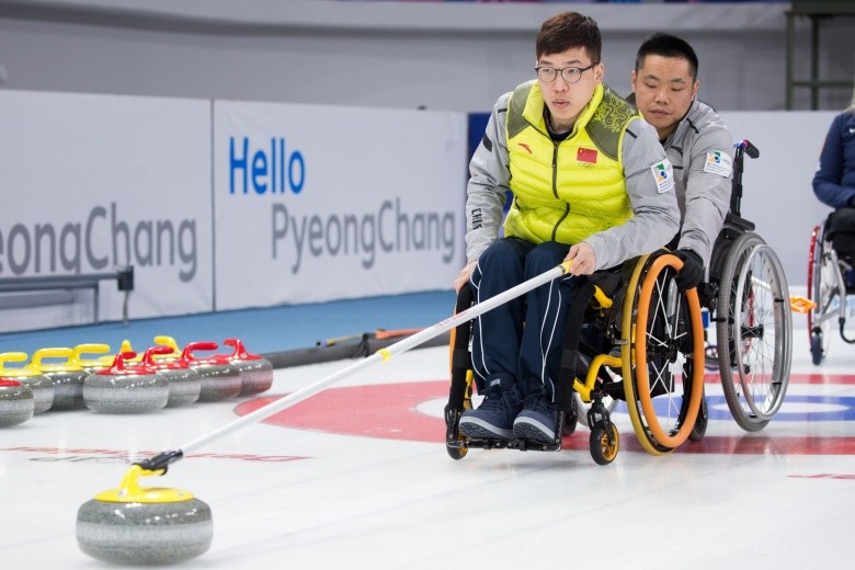 China and Scotland book play-off places at World Wheelchair Curling Championships