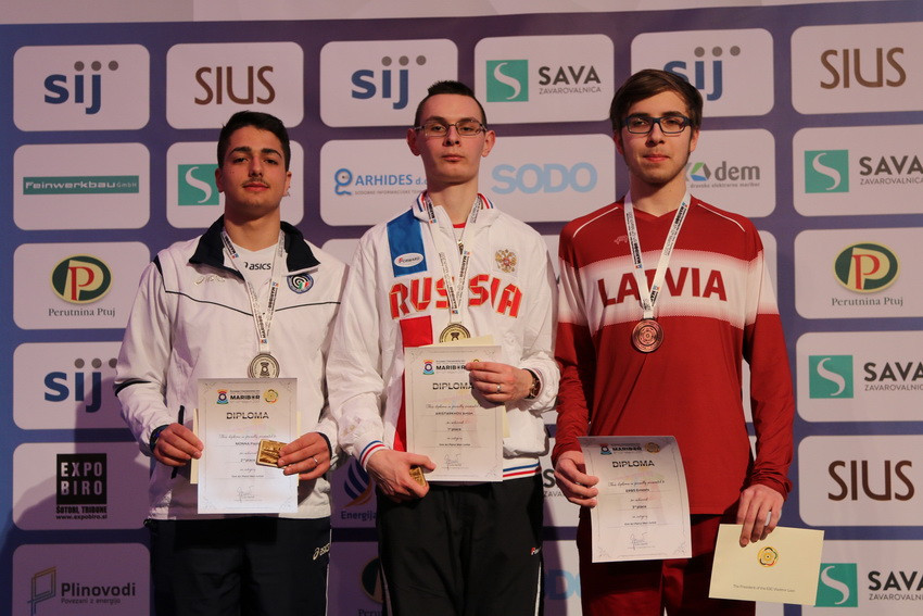 Aristarkhov dominates junior pistol events at European 10m Shooting Championships