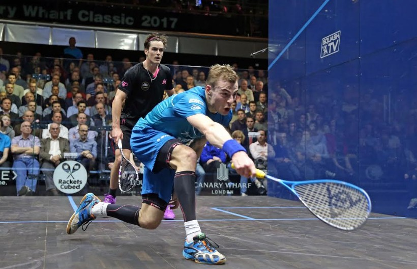 Matthew and Dessouky to contest PSA Canary Wharf Classic final
