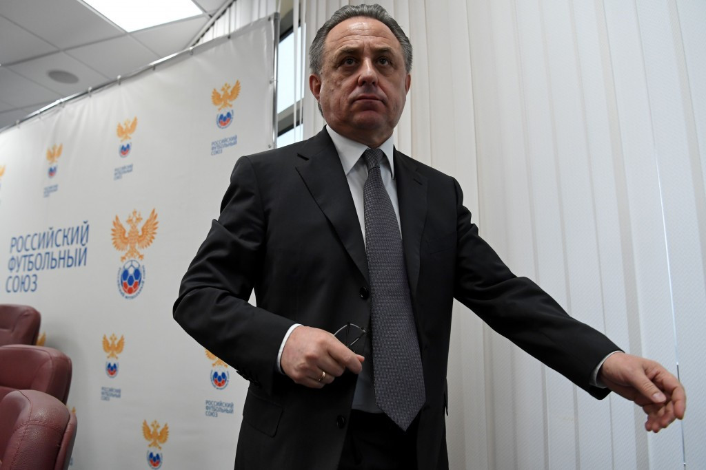 Vitaly Mutko has been barred from standing for a re-election for a place on FIFA's ruling Council ©Getty Images