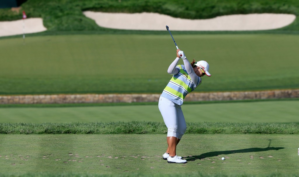 South Korea's Yang earns three shot lead at US Women's Open