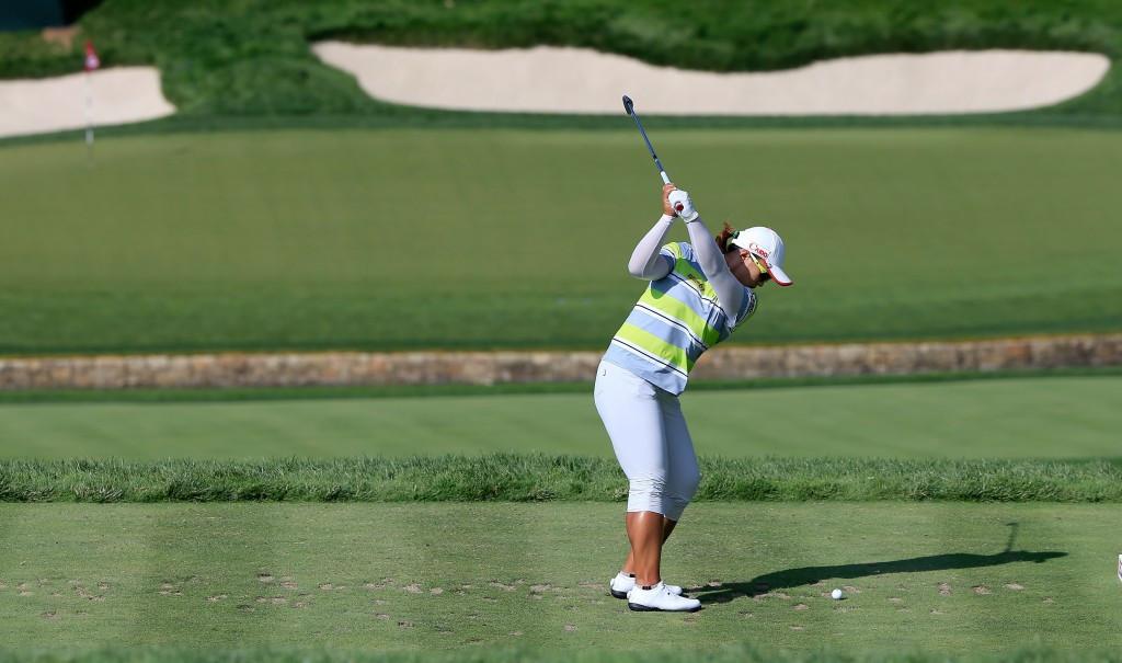 South Korea's Yang earns three shot lead at US Women's Open