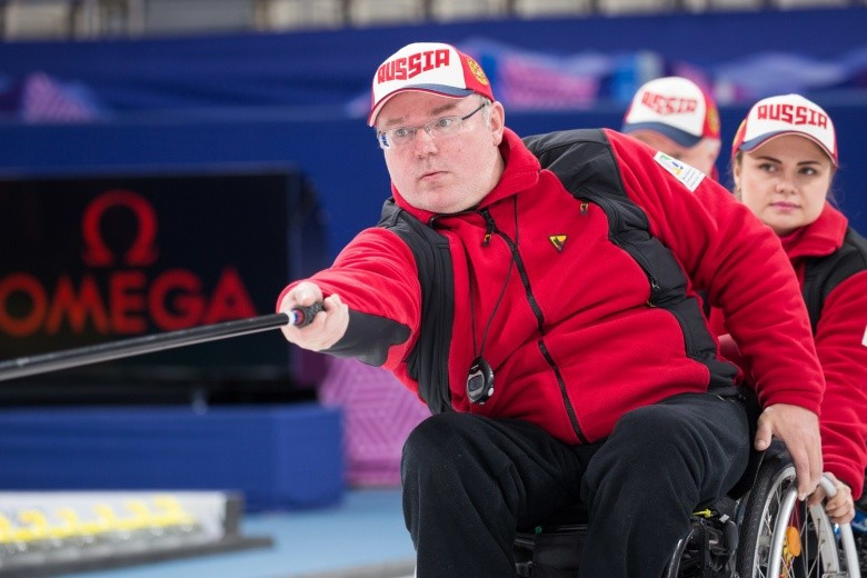 Russia reach third consecutive final at World Wheelchair Curling Championships