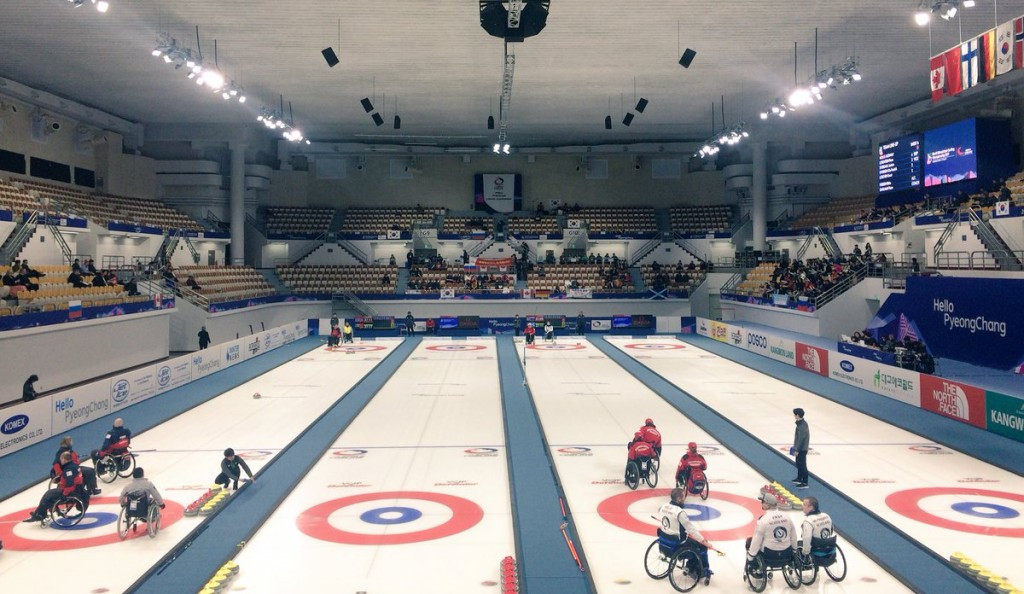The tournament, which is doubling as a test event for the 2018 Winter Paralympic Games, concludes tomorrow ©WCF