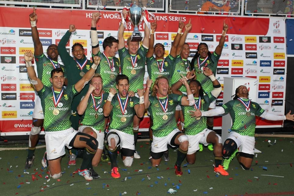 South Africa go in search of third straight World Rugby Sevens Series win