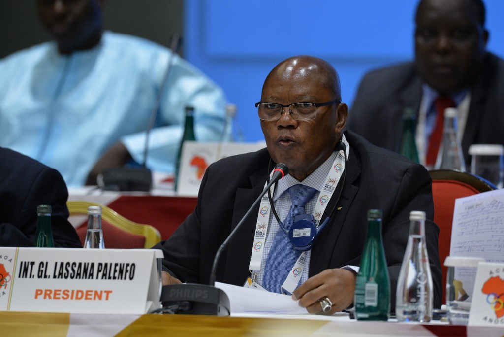 Lassana Palenfo is the current President of the Association of National Olympic Committees of Africa, a role he has held since 2005, but has not yet announced whether he will stand for re-election ©Getty Images