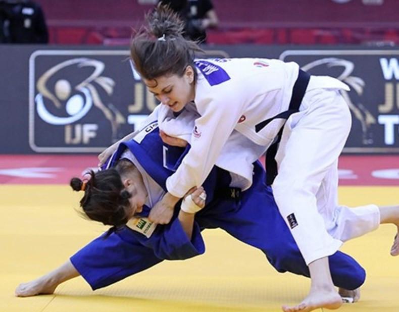 Stefannie Arissa Koyama of Brazil won on her IJF Grand Slam debut ©IJF
