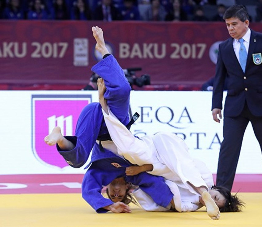 Lien Chen-Ling of Chinese Taipei became the first judoka from her country to win on the IJF Grand Slam stage ©IJF