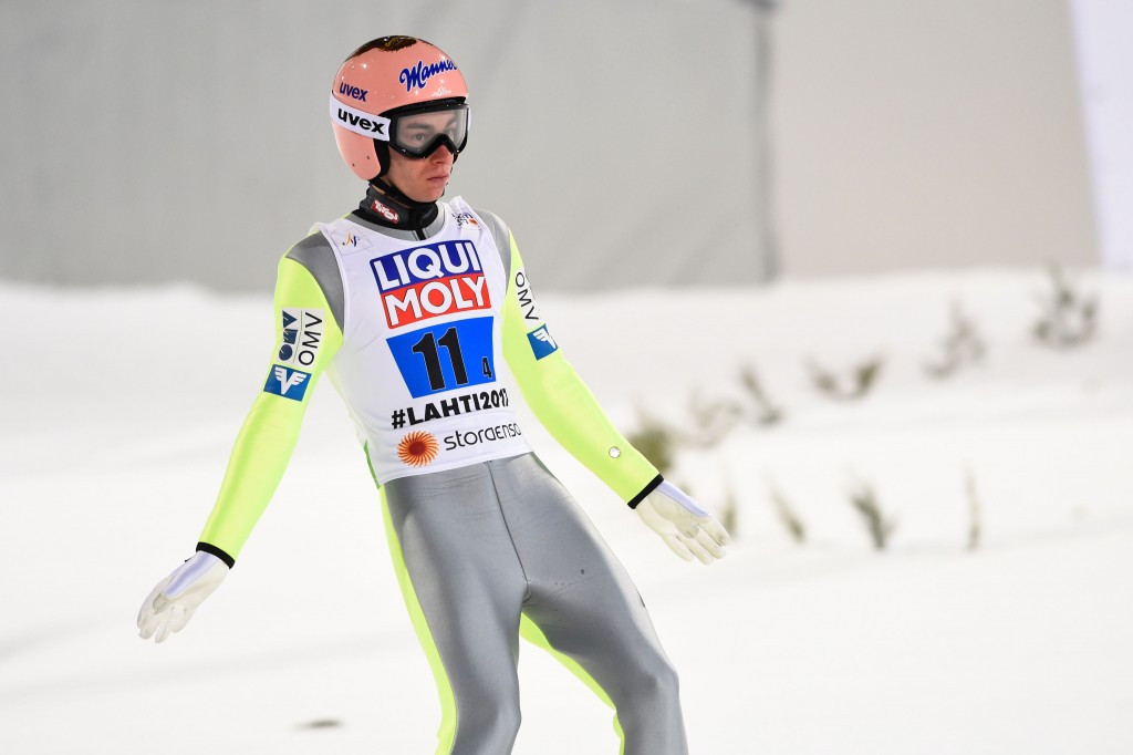 Wellinger tops qualification at FIS Ski Jumping World Cup