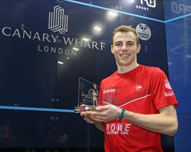 Matthew wins PSA Canary Wharf Classic on home soil