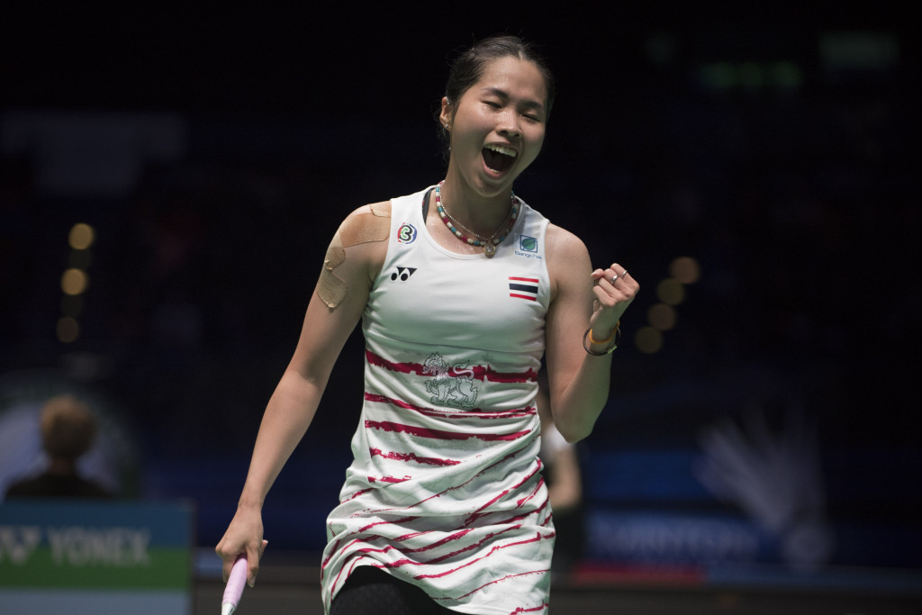 Olympic champion Marin beaten by Intanon at BWF All England Open