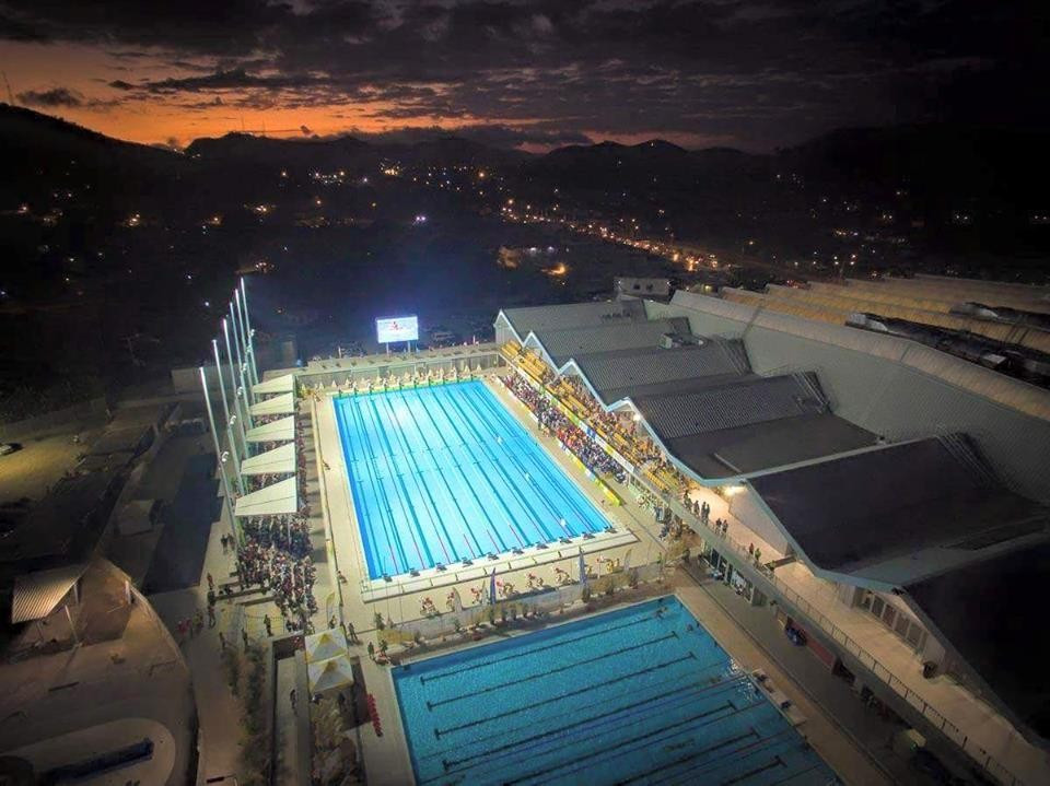The Taurama Aquatic Centre, an outstanding venue at Port Moresby 2015