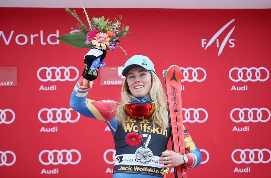 Shiffrin seals home giant slalom success in Squaw Valley