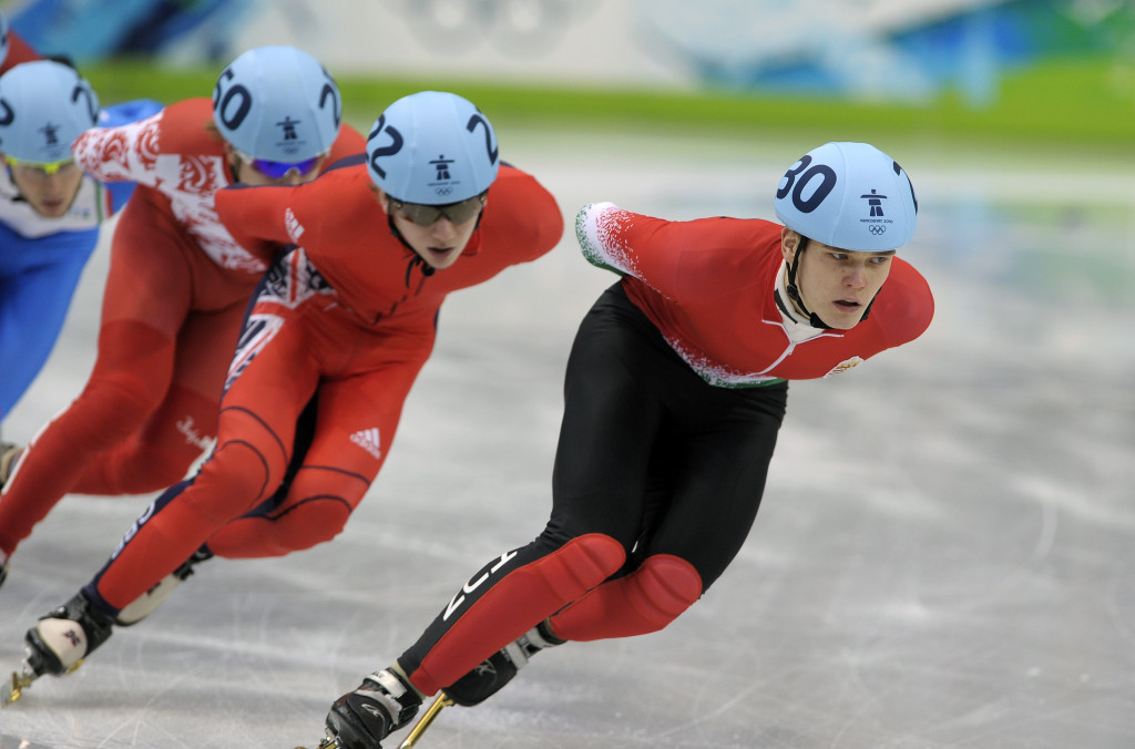 Knoch elected as short track representative on ISU Athletes' Commission