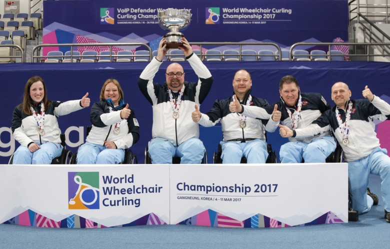 Norway stun Russia to secure gold medal at World Wheelchair Curling Championships