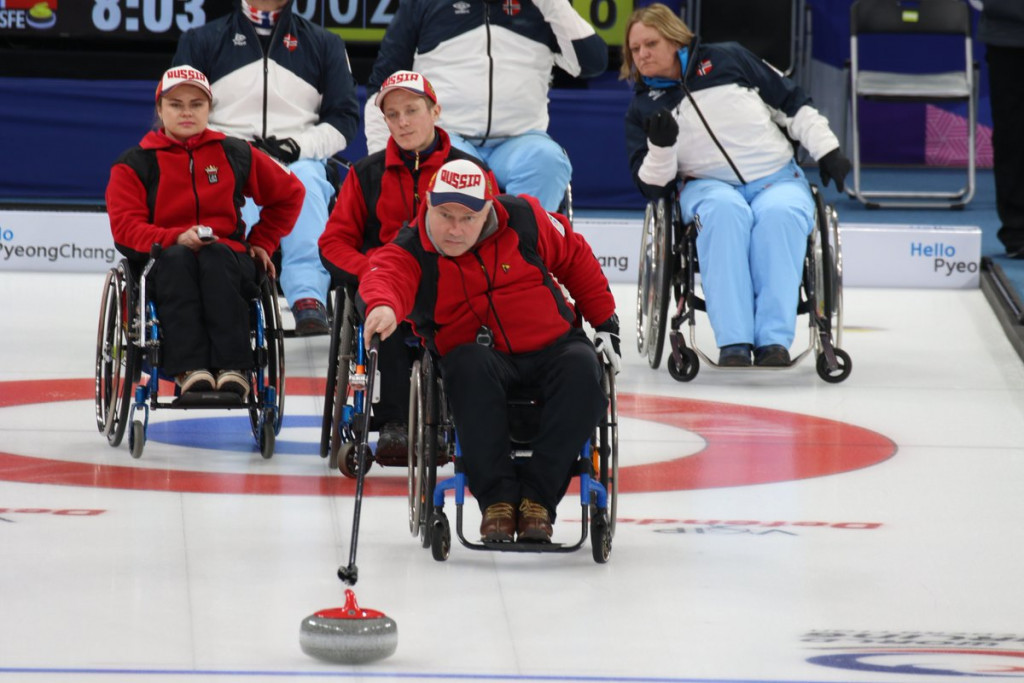 Russia could not quite find their best form as they slumped to a heavy defeat to Norway ©WCF