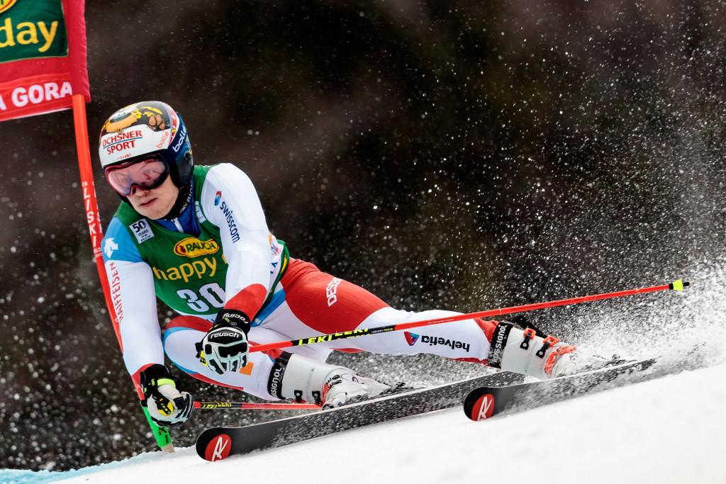 Switzerland's Meillard strikes gold at FIS Junior Alpine World Ski Championships