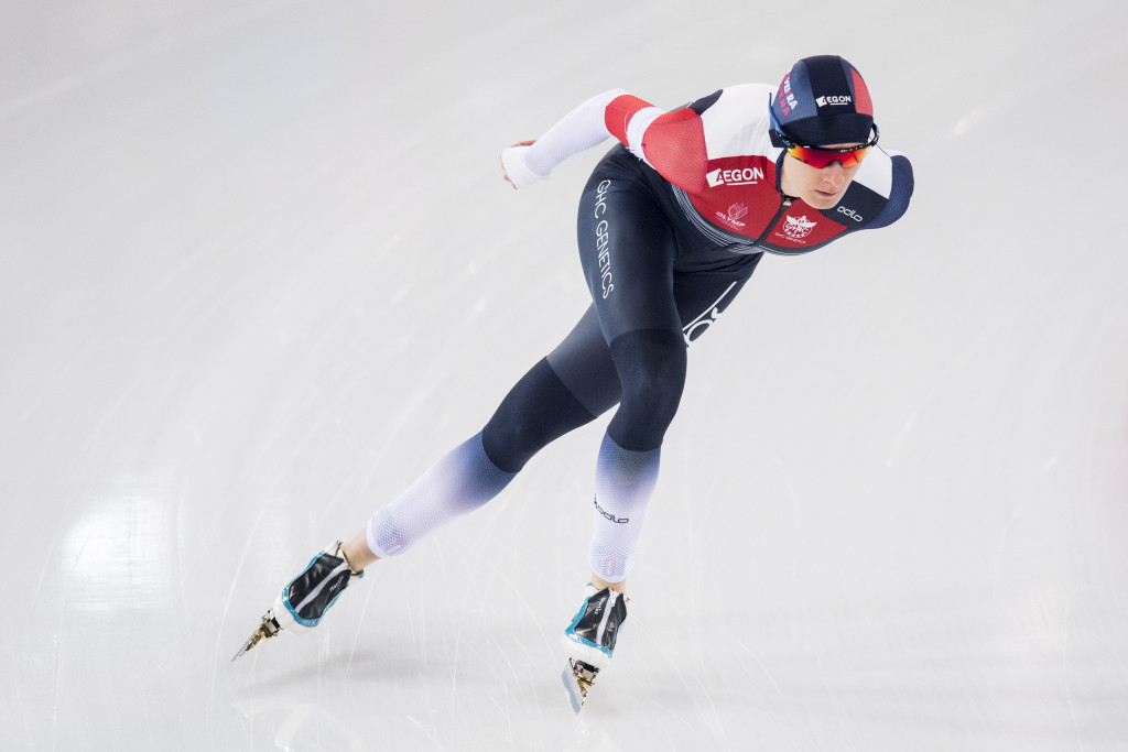 Czech Republic's Martina Sáblíková claimed her 11th consecutive ISU Speed Skating World Cup long-distance title today ©Getty Images