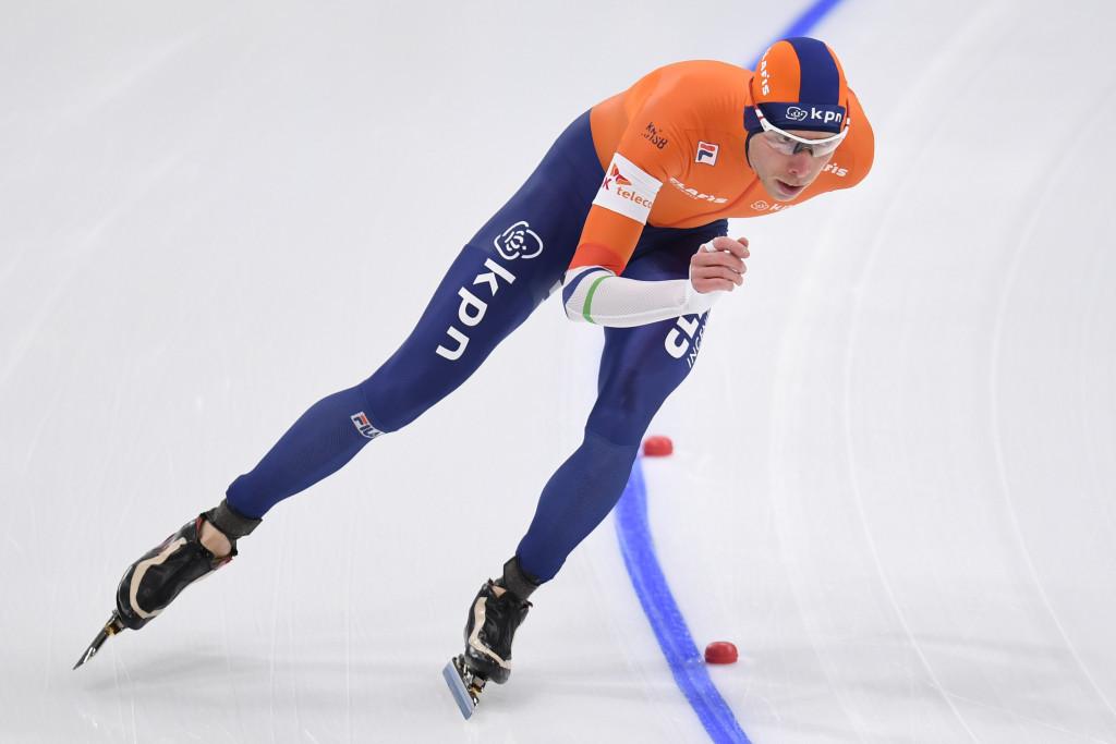 Dutchman Jorrit Bergsma won the men's long-distance World Cup ©Getty Images