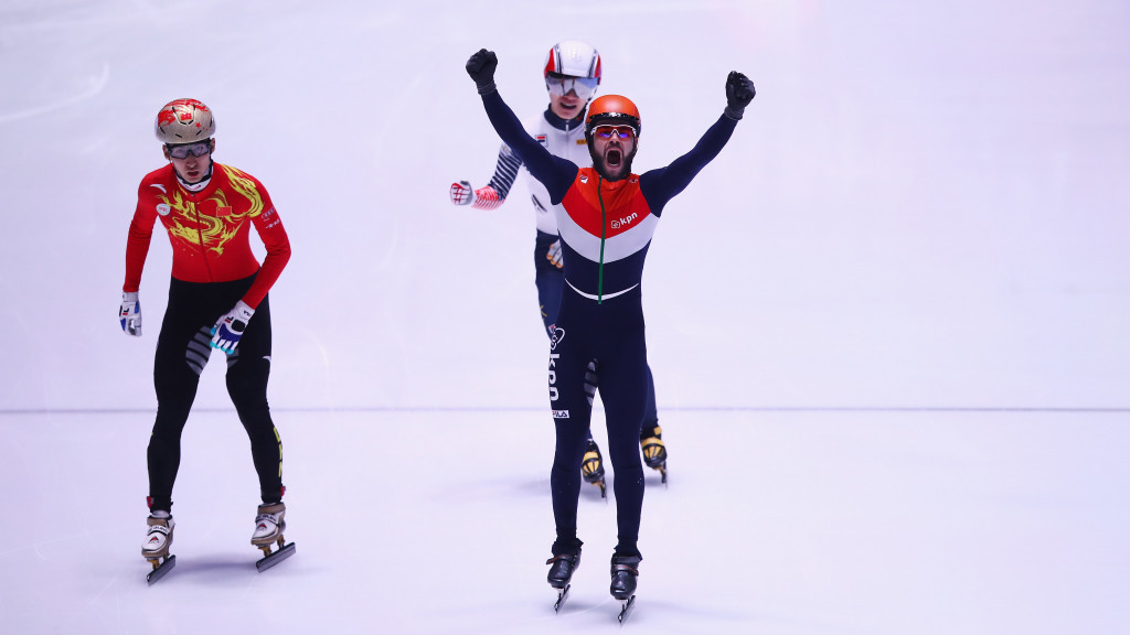 Christie makes history with gold medal at World Short ...