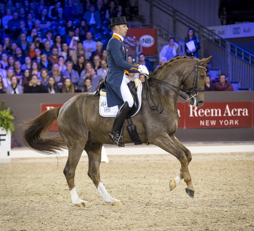 Minderhoud clinches World Cup Dressage win on home soil