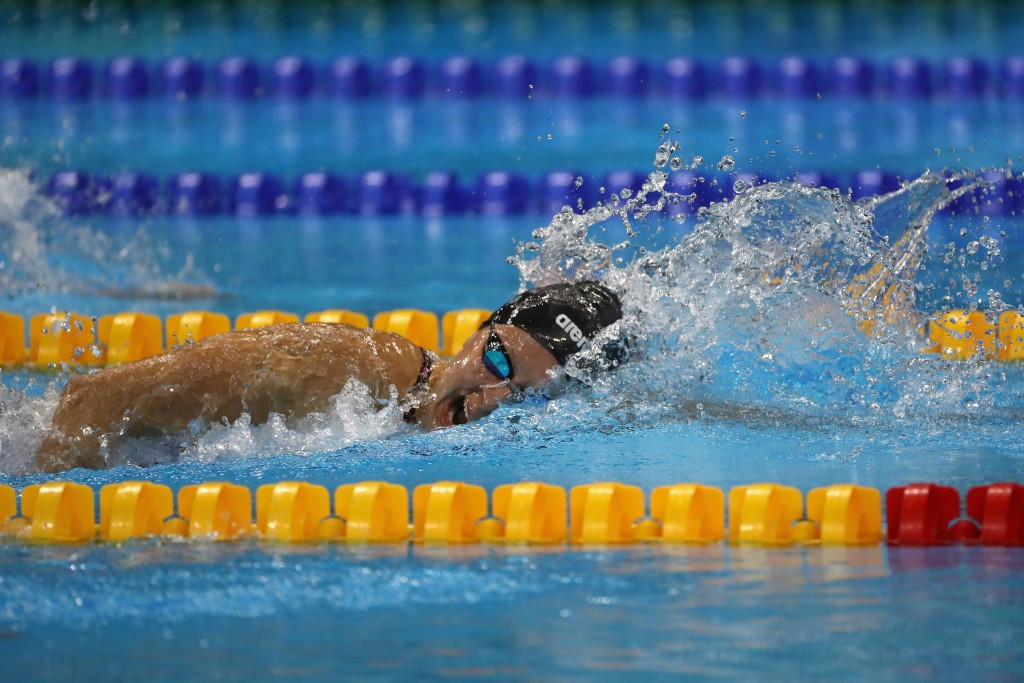 Paralympic star Long wins two gold medals as Para Swimming World Series opens