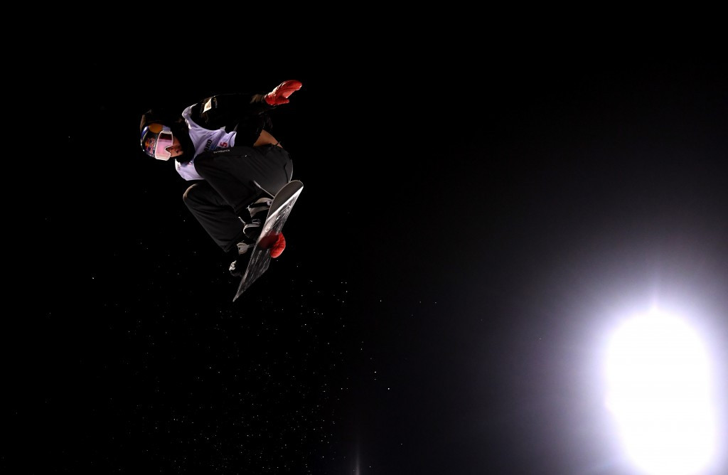 Australia's Scotty James retained his men's snowboard halfpipe world title ©Getty Images