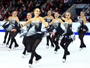 Finland's first team, Fintastic, ended up in second place ©ISU