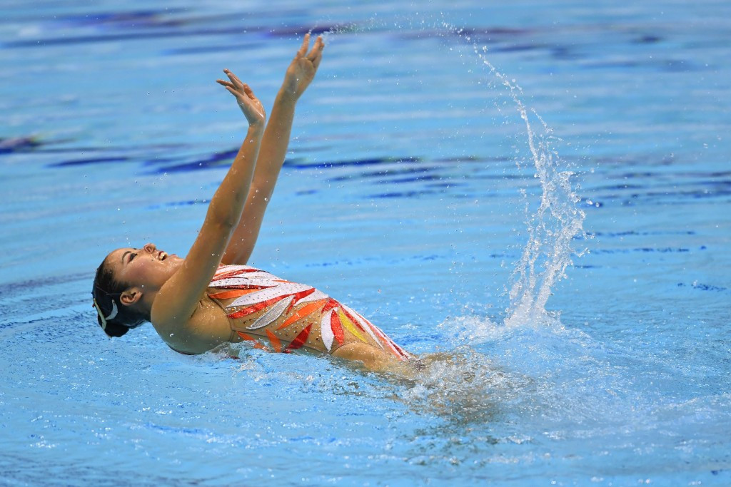 Japan's Yukiko Inui earned three medals on the final day of competition ©Getty Images