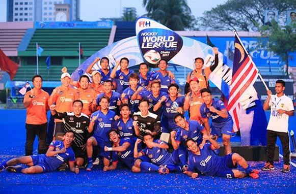Malaysia win first men's Hockey World League event in Dhaka