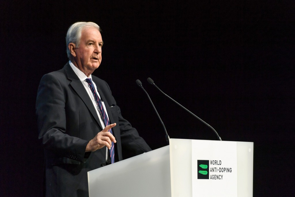 WADA President Sir Craig Reedie has said RUSADA still has significant work to do in order to get its suspension lifted ©Getty Images