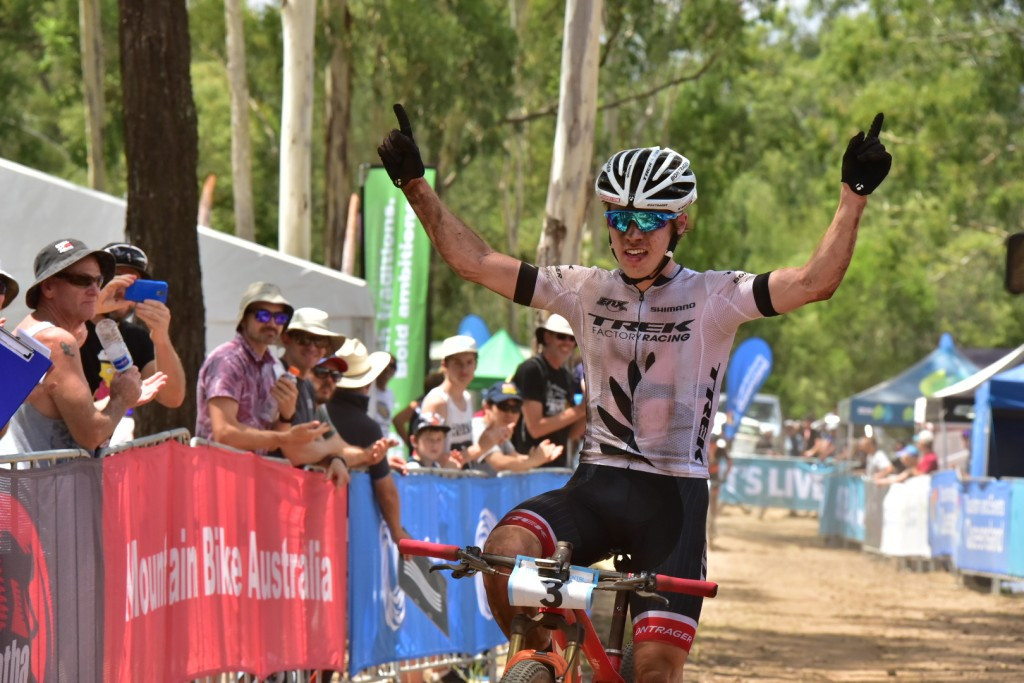 New Zealand clinch both titles at Oceania Cross-Country Mountain Bike Championships