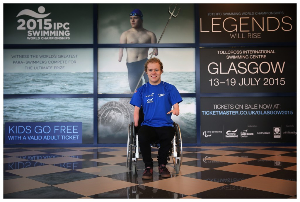 Britain's four-time European champion Andrew Mullen is among the home competitors hoping to impress at the IPC  Swimming World Championsips in Glasgow