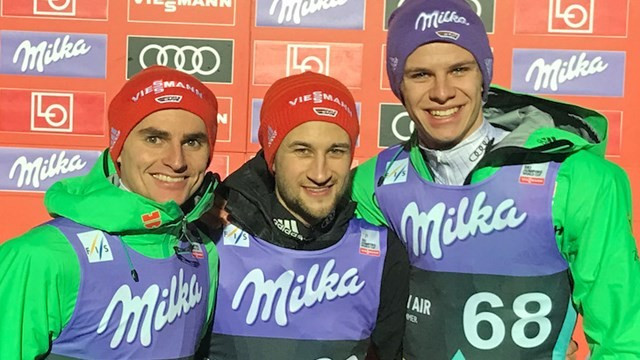 Germany's Eisenbichler tops qualification standings at FIS Ski Jumping World Cup