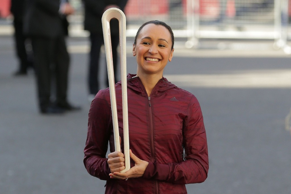 The Baton was carried into the service by Dame Jessica Ennis-Hill ©Getty Images