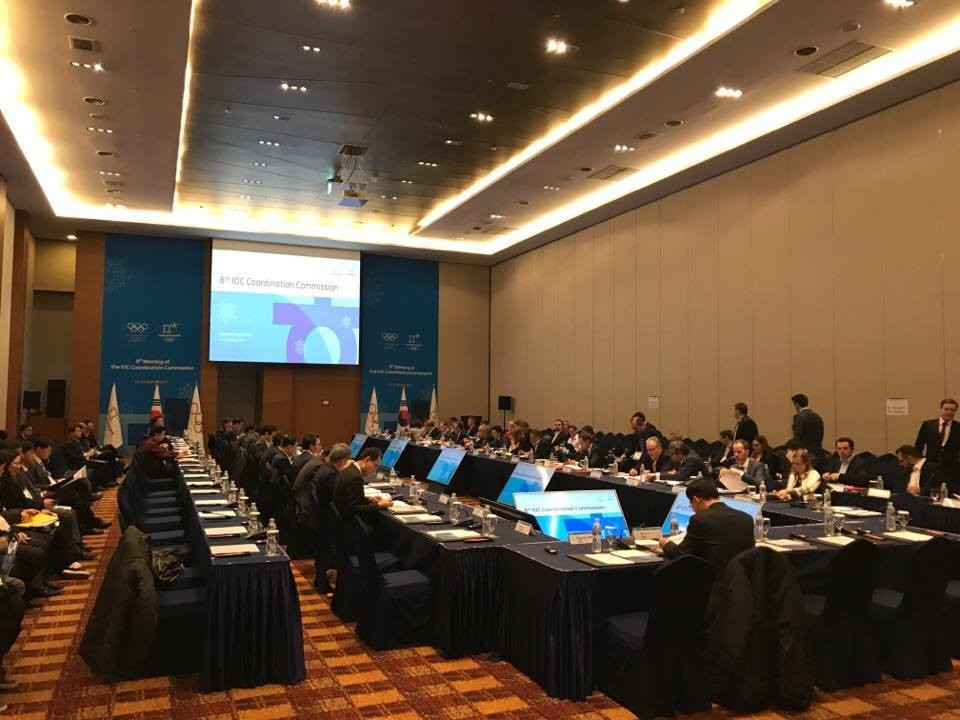 IOC Coordination Commission praise Pyeongchang 2018 but warn work still to be done
