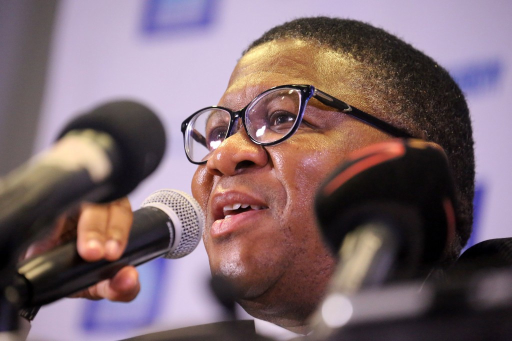 South African Sports Minister Fikile Mbalula has responded to Durban being stripped of the 2022 Commonwealth Games ©Getty Images