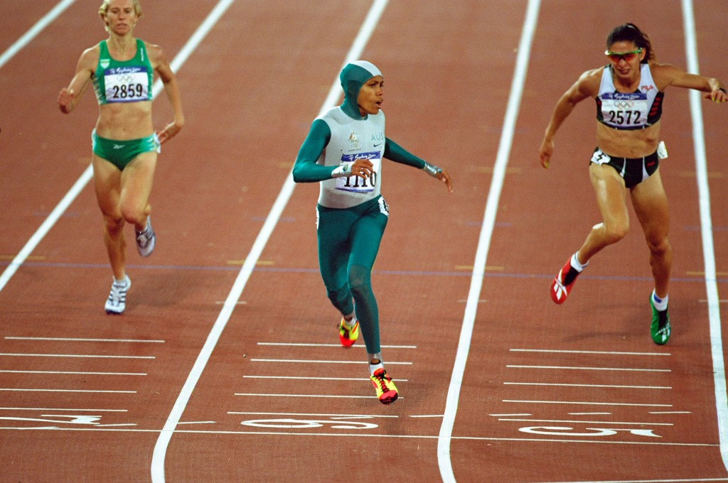 The Olympic Games create iconic moments and national heroes, such as Australia's Cathy Freeman at Sydney 2000 ©Getty Images