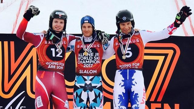 Pertl's slalom gold brings FIS Junior Alpine World Ski Championships to a close