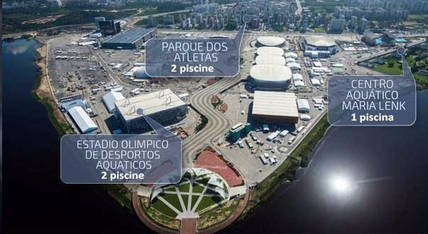 Company behind Rio 2016 pools reveals new locations of Olympic facilities