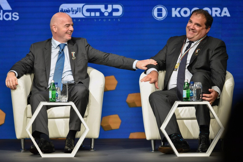 CONCACAF President Victor Montagliani has said he expects no less than six places for the region at the expanded 2026 World Cup  ©Getty Images