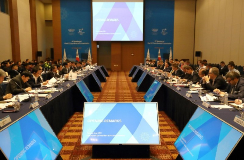 Budgetary matters were among issues discussed during the three-day IOC Coordination Commission inspection to Pyeongchang 2018 with less than a start until the start of the Winter Olympics ©Pyeongchang 2018