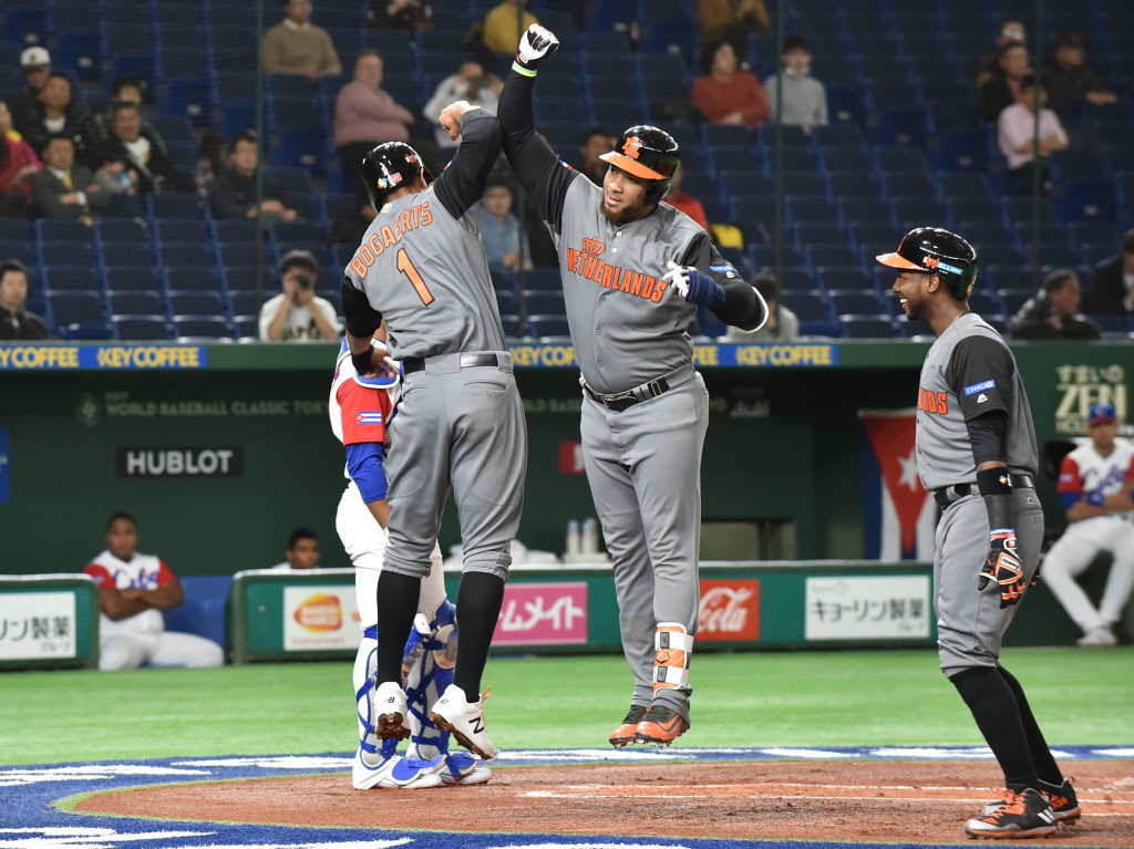 The Netherlands and Japan through to World Baseball Classic semi-finals