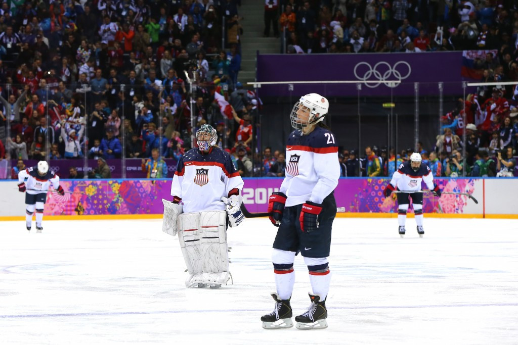 Double Olympic silver medallist Hilary Knight says the team understand the consequences of their decision ©Getty Images