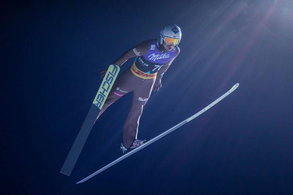 Poland's Stoch qualifies in first at FIS Ski Jumping World Cup in Trondheim